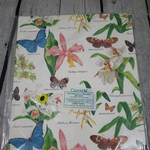 NWT VINTAGE Current Butterflies & Orchids G